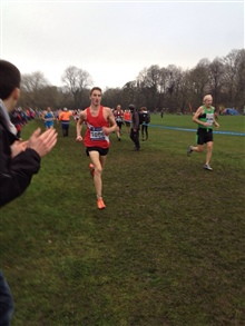 Marc Scott 3rd U23, 9th overall 2014 National Cross Country Championships